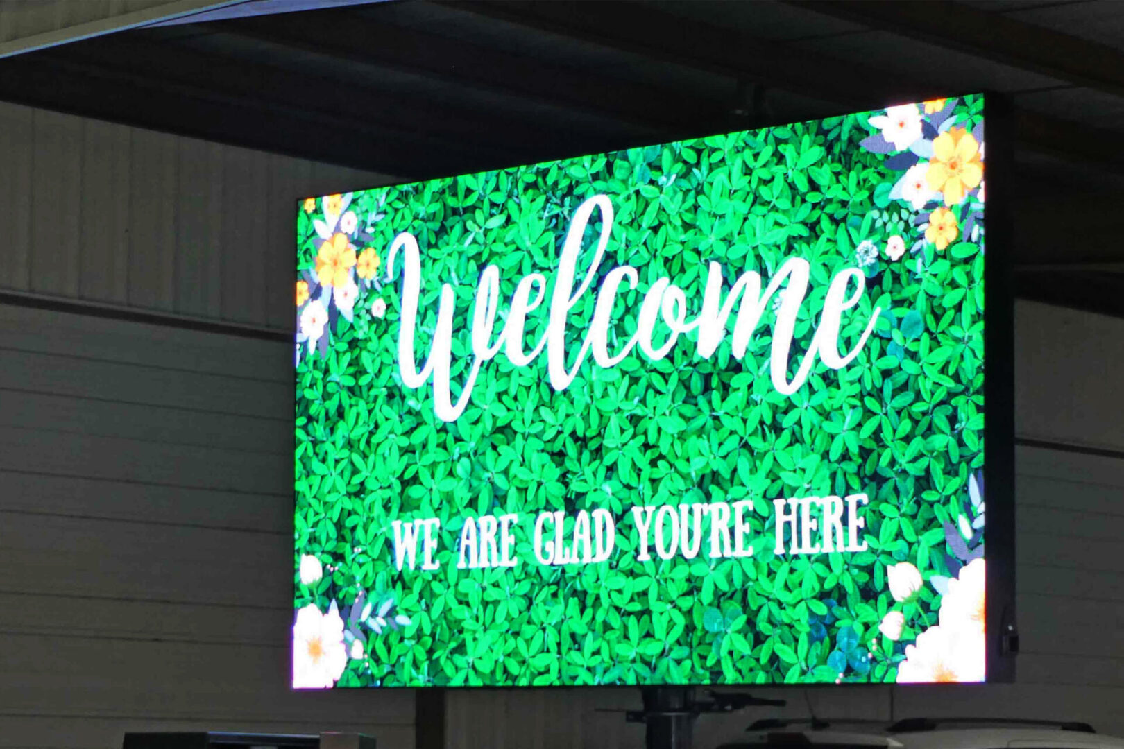 LED signs mobile displays